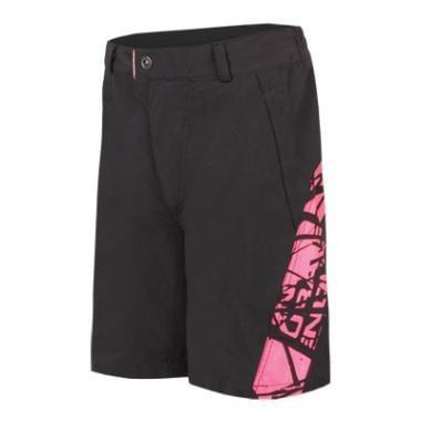 Pantalón corto ENDURA HUMMVEE Niño Negro/Rosa