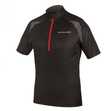 Maillot ENDURA XTRACT II Manches Courtes Noir