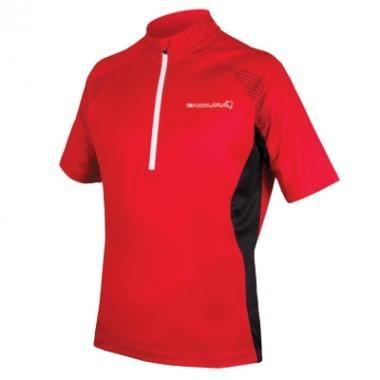 Maillot ENDURA XTRACT II Manches Courtes Rouge