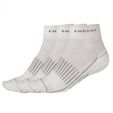 Calcetines ENDURA COOLMAX Mujer 3 Pares Blanco