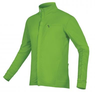 Maillot ENDURA XTRACT ROUBAIX Manches Longues Vert Fluo