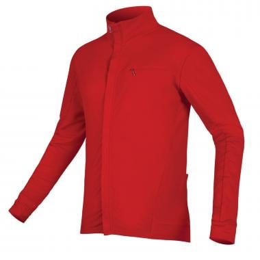 Maillot ENDURA XTRACT ROUBAIX Manches Longues Rouge