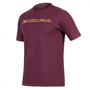 T-Shirt ENDURA ONE CLAN CARBON T Bordeaux