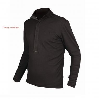 CDA - Polo ENDURA URBAN MERINO Manches Longues Noir - Taille XL