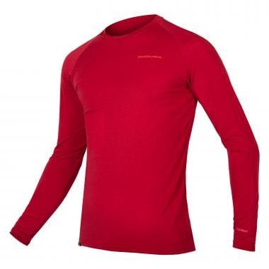 Sous-Vêtement Technique ENDURA BAABAA Manches Longues Rouge