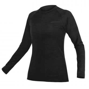 Sous-Vêtement Technique ENDURA BAABAA Femme Manches Longues Noir