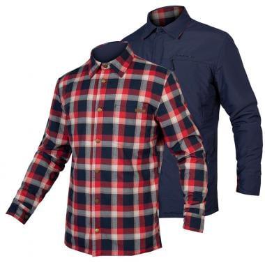 Camisa Reversível ENDURA SHACKET HUMMVEE Vermelho/Azul