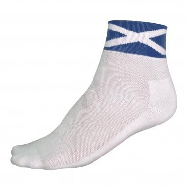 ENDURA COOLMAX RACE SALTIRE Socks White/Blue