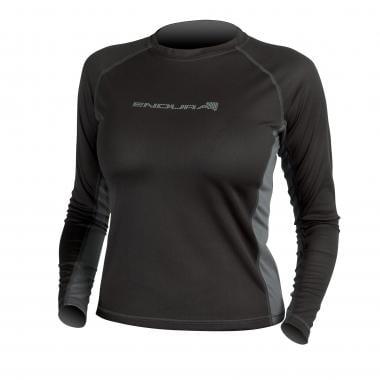 T-Shirt ENDURA PULSE Femme Manches Longues Noir