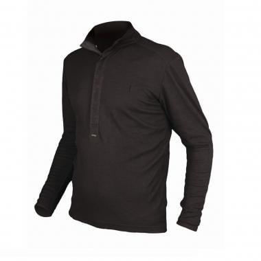 Camisa Polo ENDURA URBAN MERINO Mangas Compridas Preto