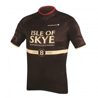 Maillot ENDURA ISLE OF SKYE Manches Courtes Noir