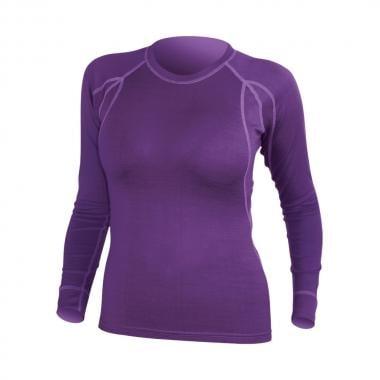 T-Shirt ENDURA MERINO Femme Manches Longues Violet