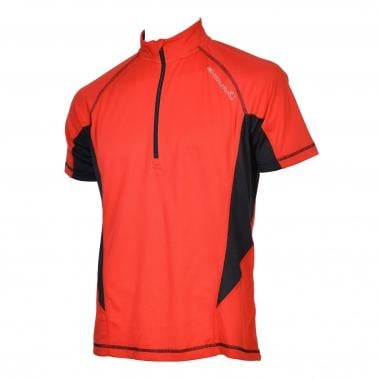 Maillot ENDURA CAIRN Manches Courtes Rouge