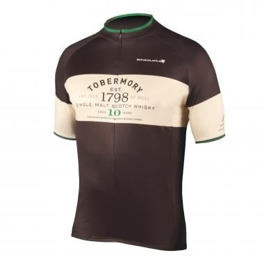 Maillot ENDURA TOBERMORY WHISKY Manches Courtes Noir