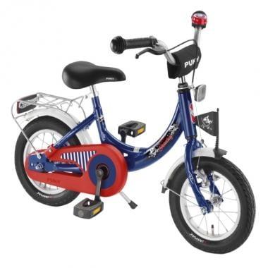 """Bicicleta de Criança PUKY ZL 12"""" Azul/Vermelho"""