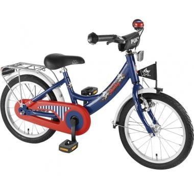 """Bicicleta de Criança PUKY ZL 16"""" Azul/Vermelho"""