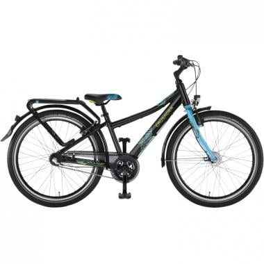 "Bicicleta de paseo PUKY 7 ALU LIGHT 24"" Negro"