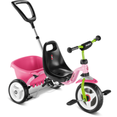 Tricycle PUKY CAT 1 S Rose