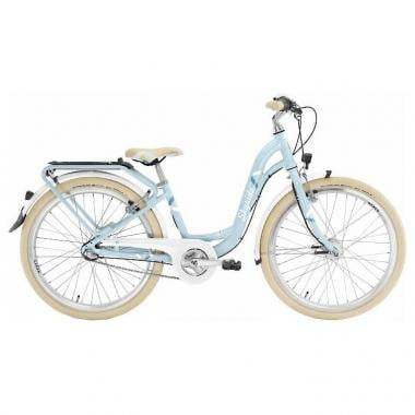 """Bicicletta da Città PUKY SKYRIDE 24-3 ALU LIGHT CLASSIC 24"""" Blu 2017"""