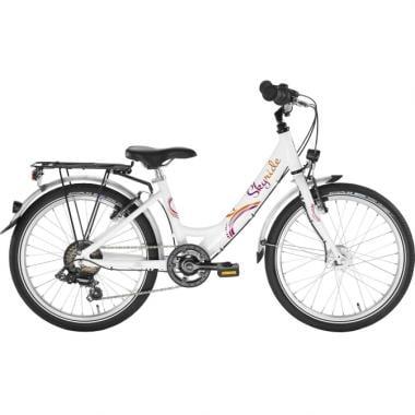 "Vélo de Ville PUKY SKYRIDE 20-6 20"" Blanc"