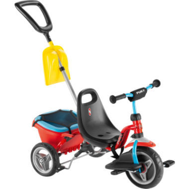 Tricycle PUKY CAT 1SP Rouge 2019
