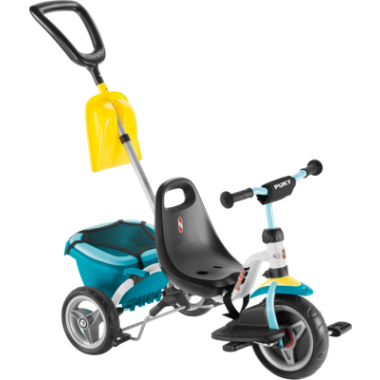 Tricycle PUKY CAT 1SP Blanc 2019