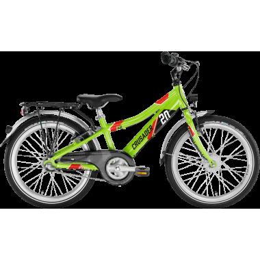 "Vélo Enfant PUKY CRUSADER 20-3 ALU 20"" Vert"