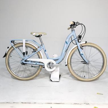 """CDA - Vélo de Ville PUKY SKYRIDE 24-7 ALU LIGHT CLASSIC 24"""" Bleu"""