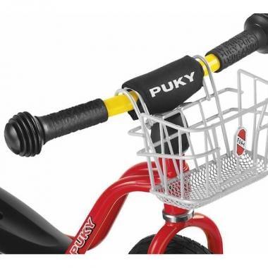 Cesta delantera PUKY LKL para bici sin pedales Plata