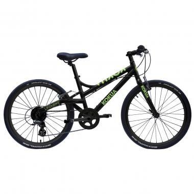 """Bicicleta Urbana KOKUA LIKEtoBIKE 24"""" Preto/Verde"""