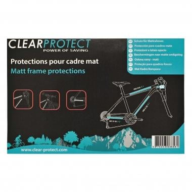 Protection Adhésive de Cadre CLEARPROTECT Pack M Mat