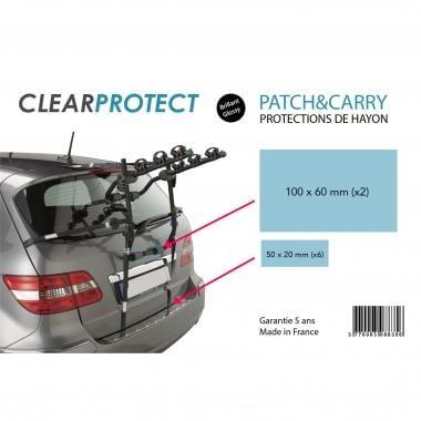 Protección de la puerta del maletero CLEARPROTECT PATCH AND CARRY para portabicicletas