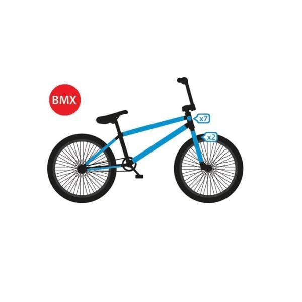 Bicicletta Protezione Pellicola Adesivo Telaio Carbonio MTB BMX