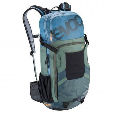 Mochila con dorsal integrada EVOC PROTECTOR FR ENDURO TEAM 16 Verde/Azul