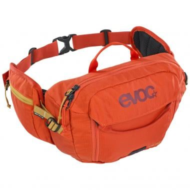 Sacoche Banane EVOC HIP PACK 3L + Poche à Eau 1,5L Orange 2020