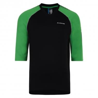 Maillot DARE 2B DIALLED Mangas 3/4 Negro/Verde