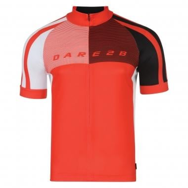 Maillot DARE 2B AEP CHASE OUT Manches Courtes Rouge 2017