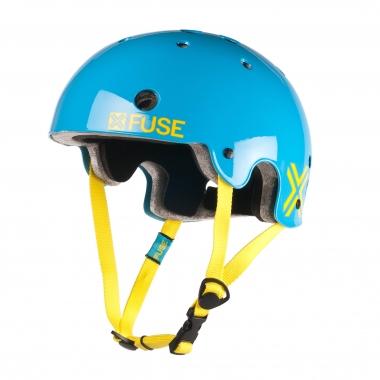 Casco FUSE CLASSIC ICON Azul Cyan