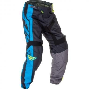 Pantalon FLY RACING F-16 Enfant Bleu/Jaune Fluo