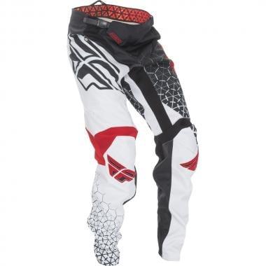 Pantaloni FLY RACING KINETIC TRIFECTA Bambino Nero/Bianco/Rosso