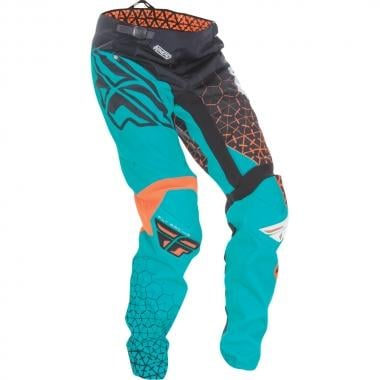 Pantalon FLY RACING KINETIC TRIFECTA Enfant Noir/Bleu/Orange