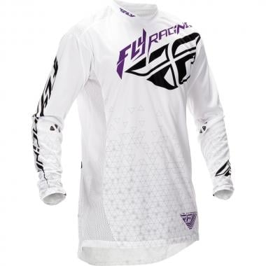 Maillot FLY RACING LITE HYDROGEN Mangas largas Blanco