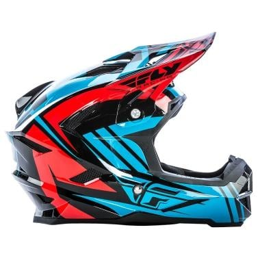 Casco FLY RACING DEFAULT Negro/Azul/Rojo 2017