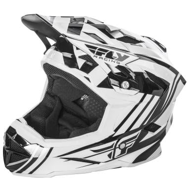 Casque FLY RACING DEFAULT Enfant Blanc/Noir 2017