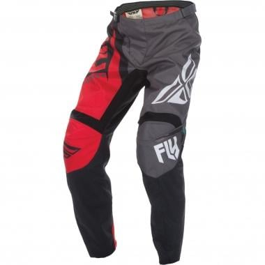 Pantalon FLY RACING F-16 Enfant Noir/Gris/Rouge 2017