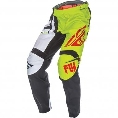 Pantalon FLY RACING F-16 Enfant Vert Lime/Noir 2017