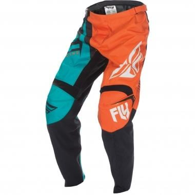 Pantalon FLY RACING F-16 Enfant Orange/Teal 2017