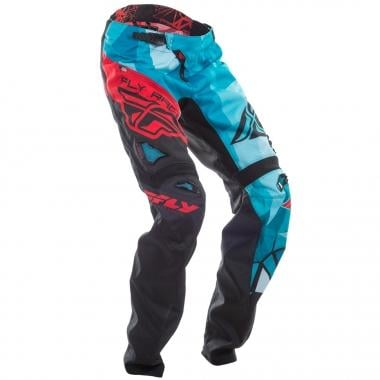 Pantalon FLY RACING KINETIC BICYCLE CRUX Dark Teal/Rouge 2017