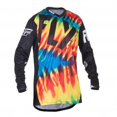 Maillot FLY RACING LITE HYDROGEN Manches Longues Tie Dye/Noir 2017