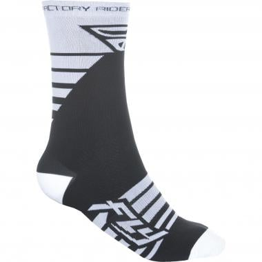 Chaussettes FLY RACING FACTORY RIDER Blanc/Noir 2019